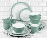 16pc Camden Dinner Set - Green