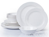 18pc Round Melamine Dinner Set