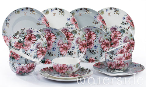 18pc Floral Blossom D/Set