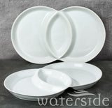 3-Section Serving Dish Set of 2