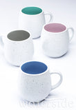 Set of 4 Speckled Hug Mugs