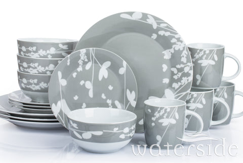 16pc Botanicals Dinner Set