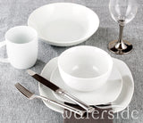 30pc White Everyday Dinner Set