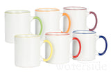 6pc Rainbow Mug Set