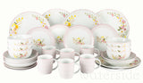 30pc Cottage Garden Dinner Set