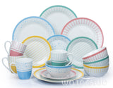 16pc  Sorbet Mix & Match Dinner Set