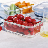 4 Piece Glass Food Containers