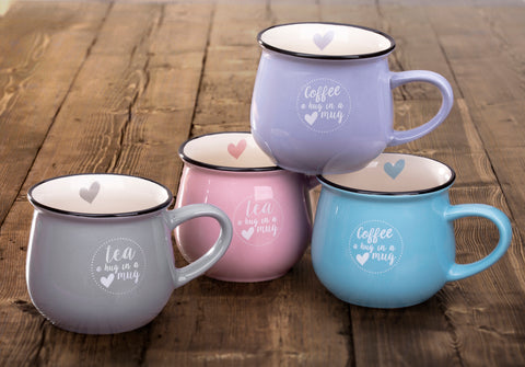 4 Piece Hug In A Mug Set