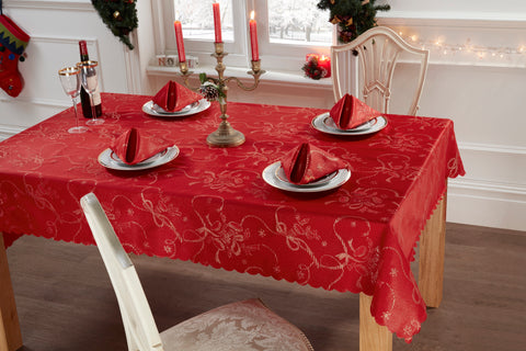 10pc Noel Sparkle Table Linen Set