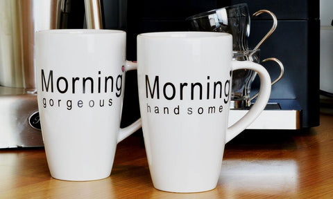 Set of 2 Morning Mugs