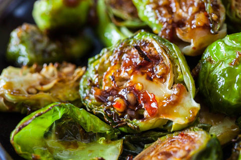 Bang-Bang Brussels Sprouts (Paleo, GF) *Made Monday - 8/26*