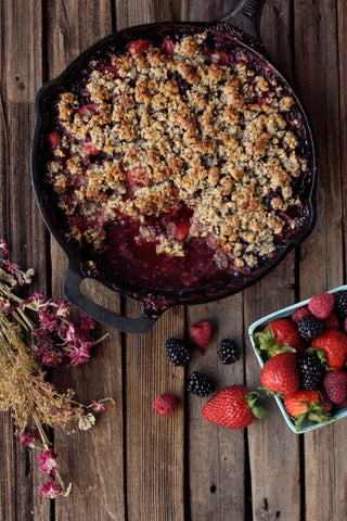 The Weekly Dessert: Berry Cobbler (Paleo, GF)