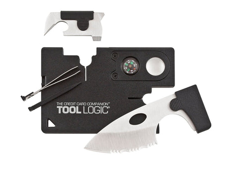 Credit Card Companion with Lens/Compass ToolLogic