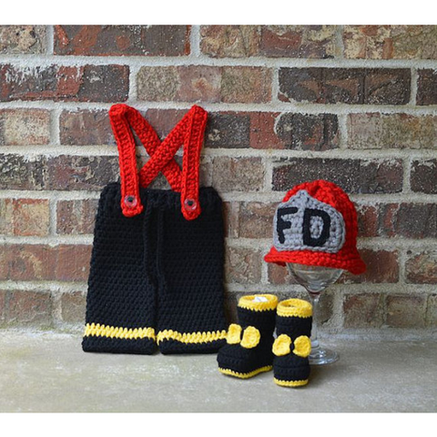 B. Firefighters - Baby Firefighter Outfit