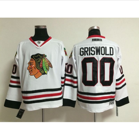 sports shoes 7e26a 0b30b Griswold #00 - Chicago Blackhawks Hockey Jersey