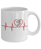 Military - Navy Grandpa - Lifeline - Mug