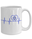 Law Enforcement - Grandpa - Lifeline - Mug