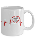 Military - Navy Dad - Lifeline - Mug