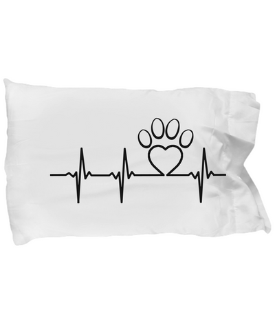Dogs - Paw Lifeline - Pillow Case