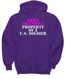 Military - Army Grandma - Property of a U.S. Soldier