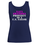 Military - Navy Grandma - Property of a U.S. Sailor