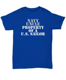 Military - Navy Uncle - Property of a U.S. Sailor