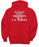 Military - Marine Papa - Property of a U.S. Marine
