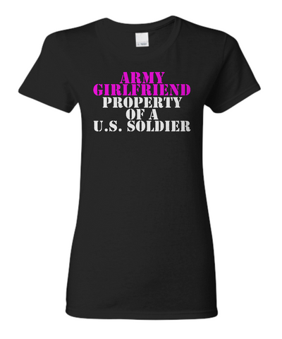 Military - Army Girlfriend - Property of a U.S. Soldier