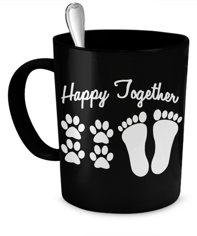 Dogs - Happy Together - Mug