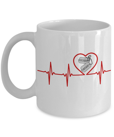 Military - Marine Husband - Lifeline - Mug