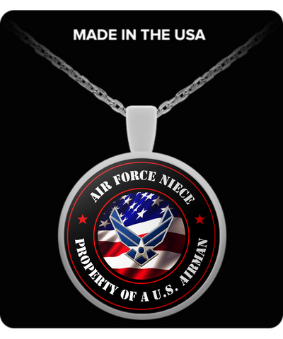 Military - Air Force Niece - Property of a U.S. Airman - Necklace