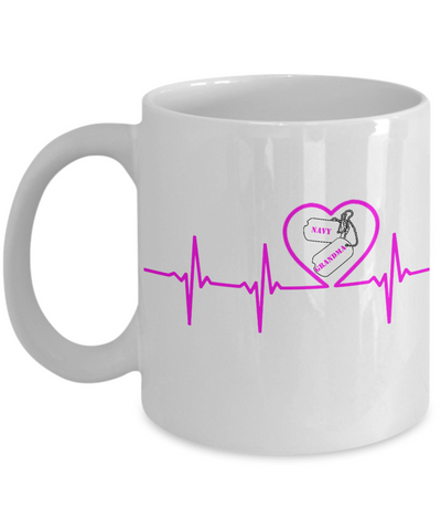Military - Navy Grandma - Lifeline - Mug