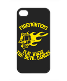 Firefighters - Play Where The Devil Dances Mobile Phone Case (Yellow)