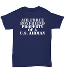Military - Air Force Boyfriend - Property of a U.S. Airman
