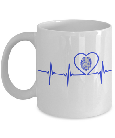Law Enforcement - Husband - Lifeline - Mug