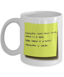 Chocolate Is Salad - Mug