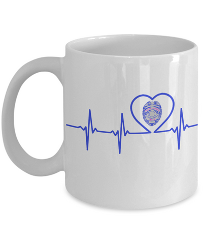 Law Enforcement - Wife - Lifeline - Mug
