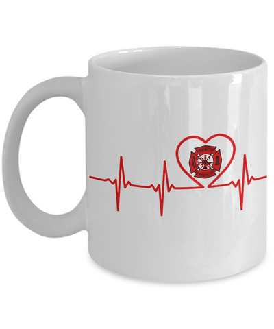 Firefighter - Grandfather - Lifeline - Mug