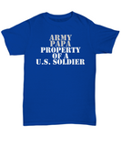 Military - Army Papa - Property of a U.S. Soldier