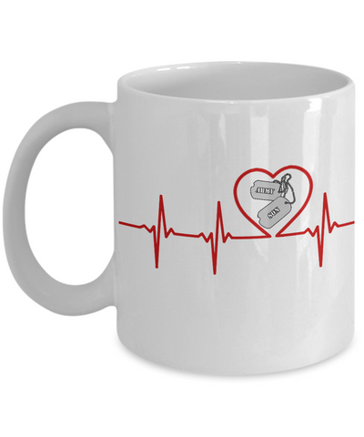 Military - Army Son - Lifeline - Mug