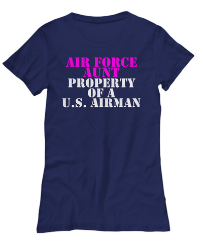 Military - Air Force Aunt - Property of a U.S. Airman