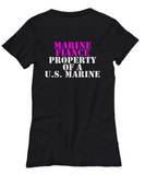 Military - Marine Fiance - Property of a U.S. Marine