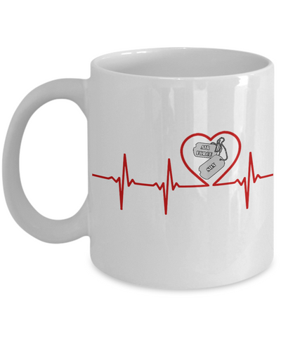 Military - Air Force Son - Lifeline - Mug