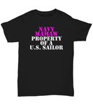 Military - Navy Mamaw - Property of a U.S. Sailor