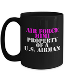 Military - Air Force Mimi - Property of a U.S. Airman - Mug