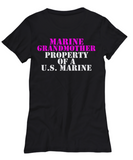 Military - Marine Grandmother - Property of a U.S. Marine