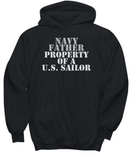 Military - Navy Father - Property of a U.S. Sailor