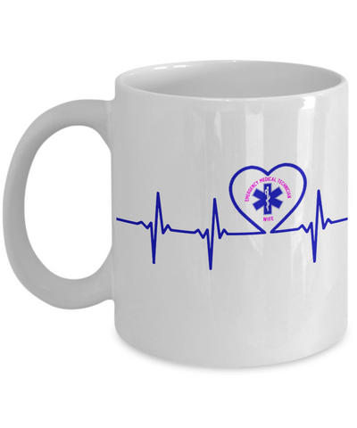 EMT - Wife - Lifeline - Mug