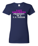 Military - Navy Girlfriend - Property of a U.S. Sailor
