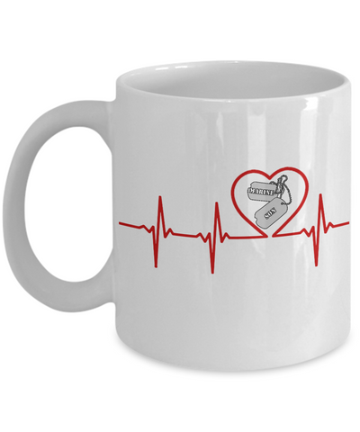Military - Marine Son - Lifeline - Mug